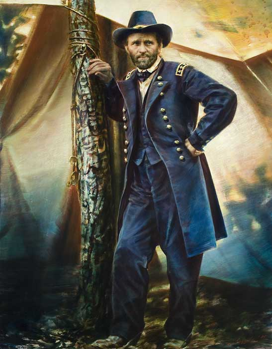 Robert Schoeller Painting: Ulysses S. Grant at Cold Harbor Painting FP003