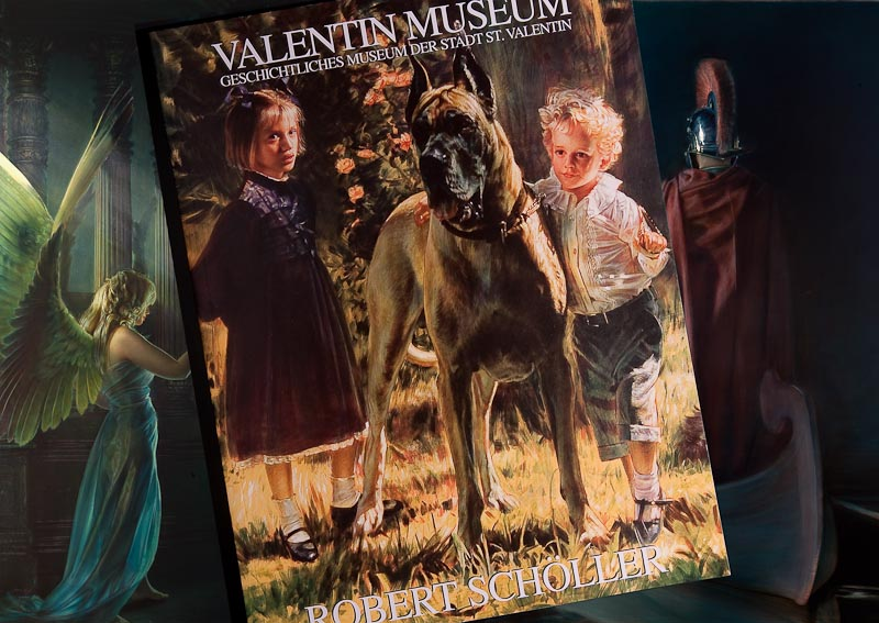 Robert Schoeller Painting: Full Color 71 pages Art Work Valentin Show catalog